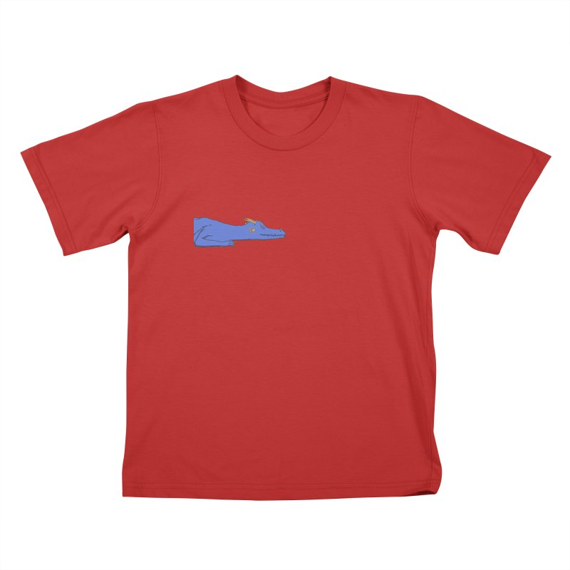 Dragon Resting Kids T-Shirt by wchwriter's Artist Shop