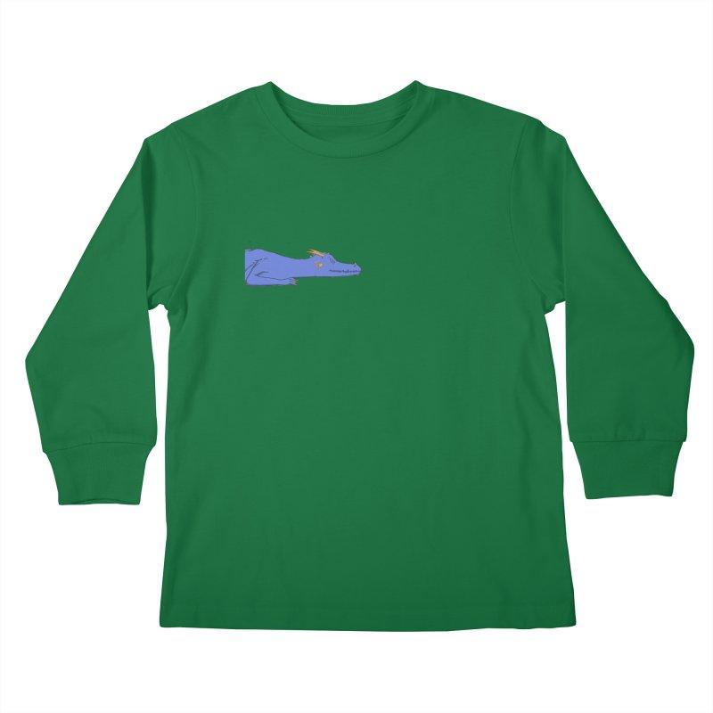 Dragon Resting Kids Longsleeve T-Shirt by wchwriter's Artist Shop