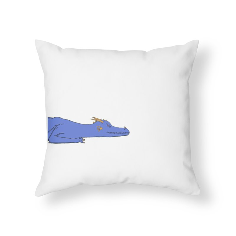 Dragon Resting Home Throw Pillow by wchwriter's Artist Shop