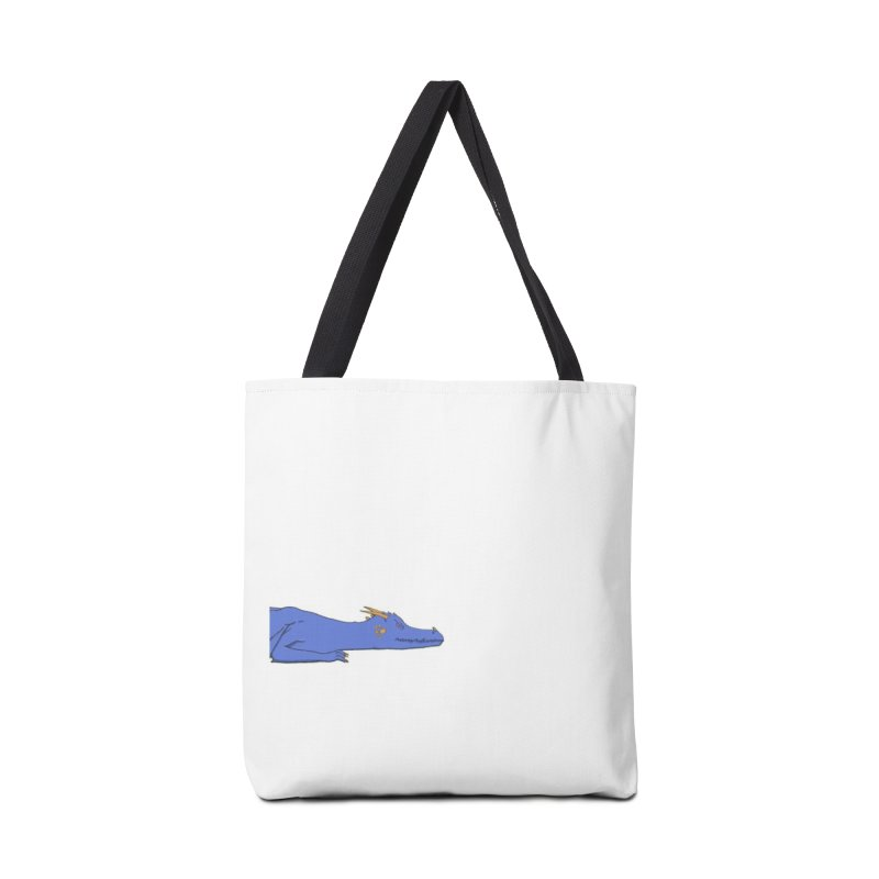 Dragon Resting Accessories Tote Bag Bag by wchwriter's Artist Shop