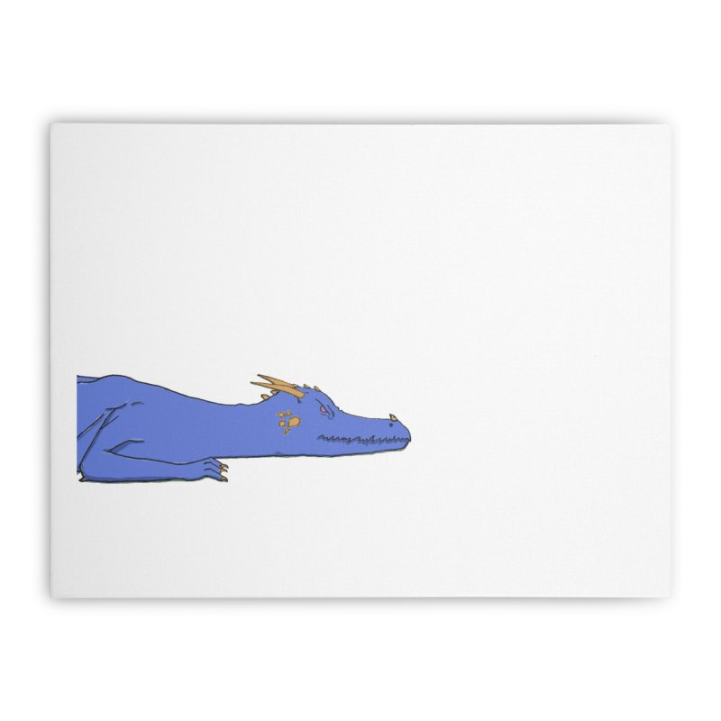 Dragon Resting Home Stretched Canvas by wchwriter's Artist Shop