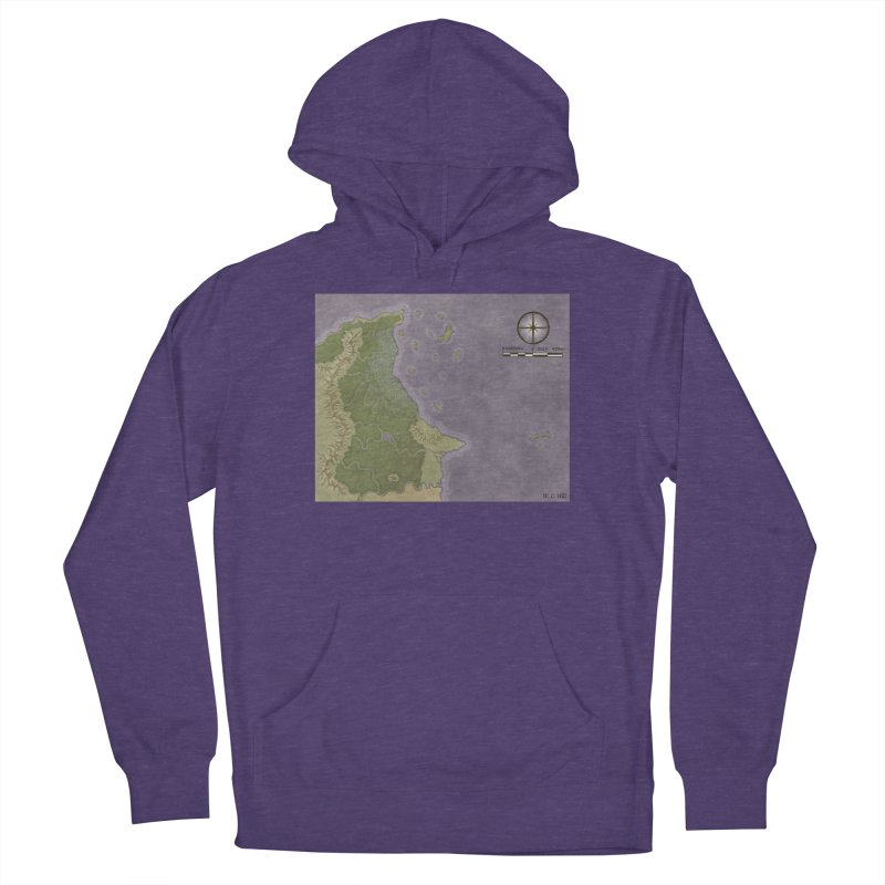 North Eastern Verlese Men's French Terry Pullover Hoody by wchwriter's Artist Shop