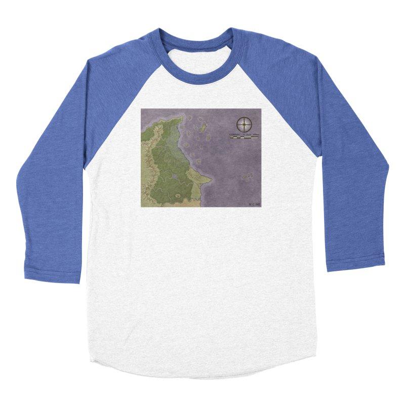 North Eastern Verlese Women's Baseball Triblend Longsleeve T-Shirt by wchwriter's Artist Shop