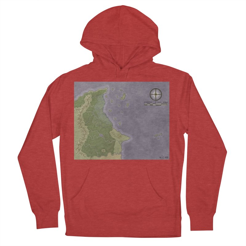 North Eastern Verlese Women's French Terry Pullover Hoody by wchwriter's Artist Shop