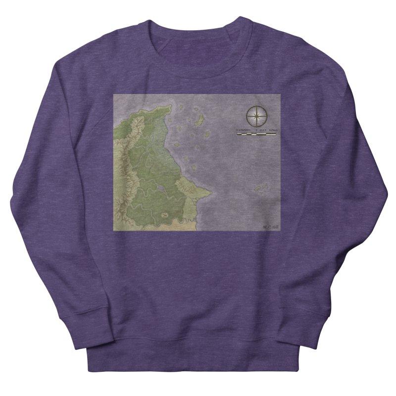 North Eastern Verlese Men's French Terry Sweatshirt by wchwriter's Artist Shop