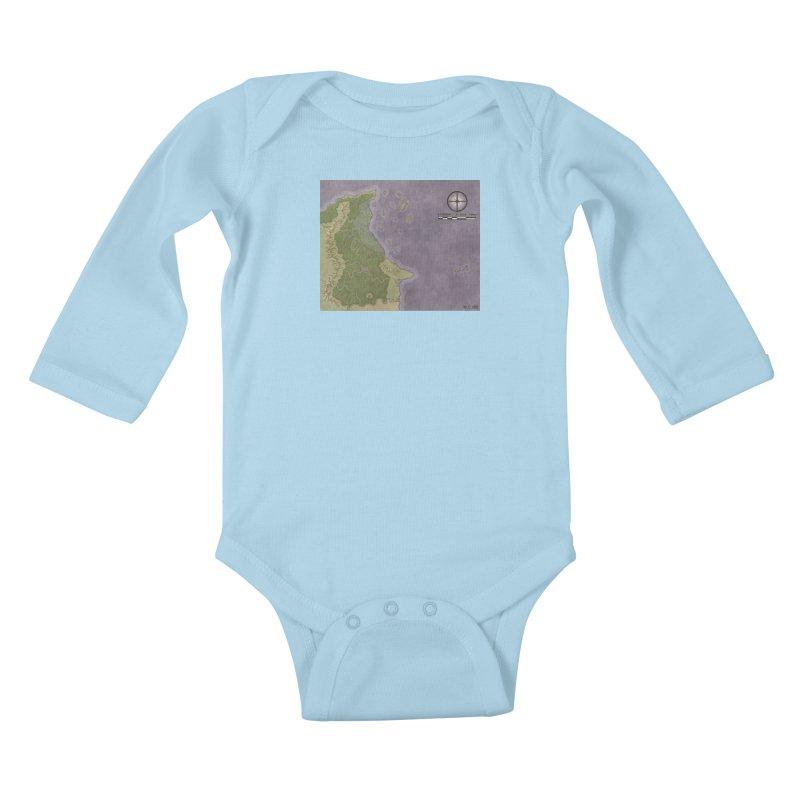 North Eastern Verlese Kids Baby Longsleeve Bodysuit by wchwriter's Artist Shop