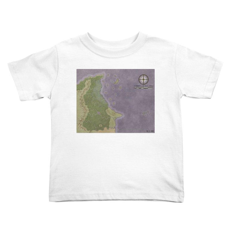 North Eastern Verlese Kids Toddler T-Shirt by wchwriter's Artist Shop