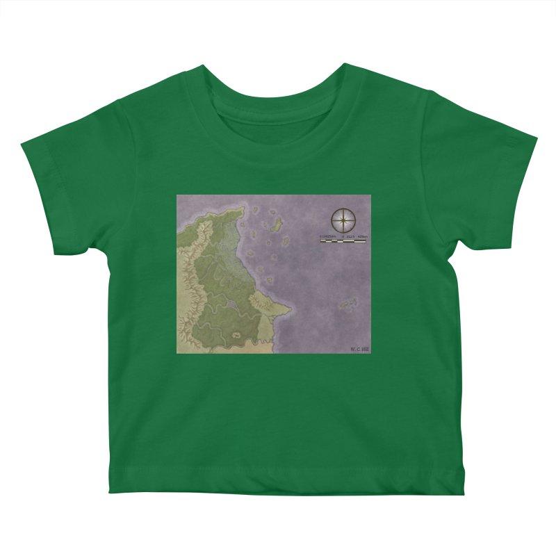 North Eastern Verlese Kids Baby T-Shirt by wchwriter's Artist Shop