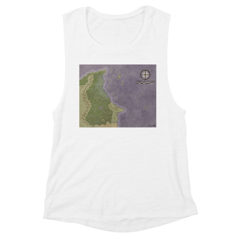 North Eastern Verlese Women's Muscle Tank by wchwriter's Artist Shop