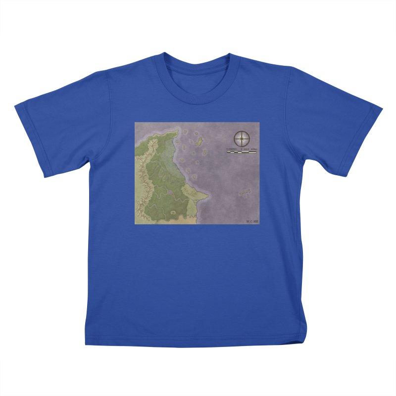 North Eastern Verlese Kids T-Shirt by wchwriter's Artist Shop
