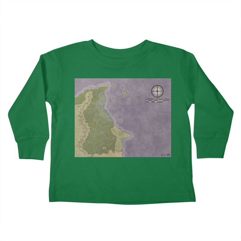 North Eastern Verlese Kids Toddler Longsleeve T-Shirt by wchwriter's Artist Shop