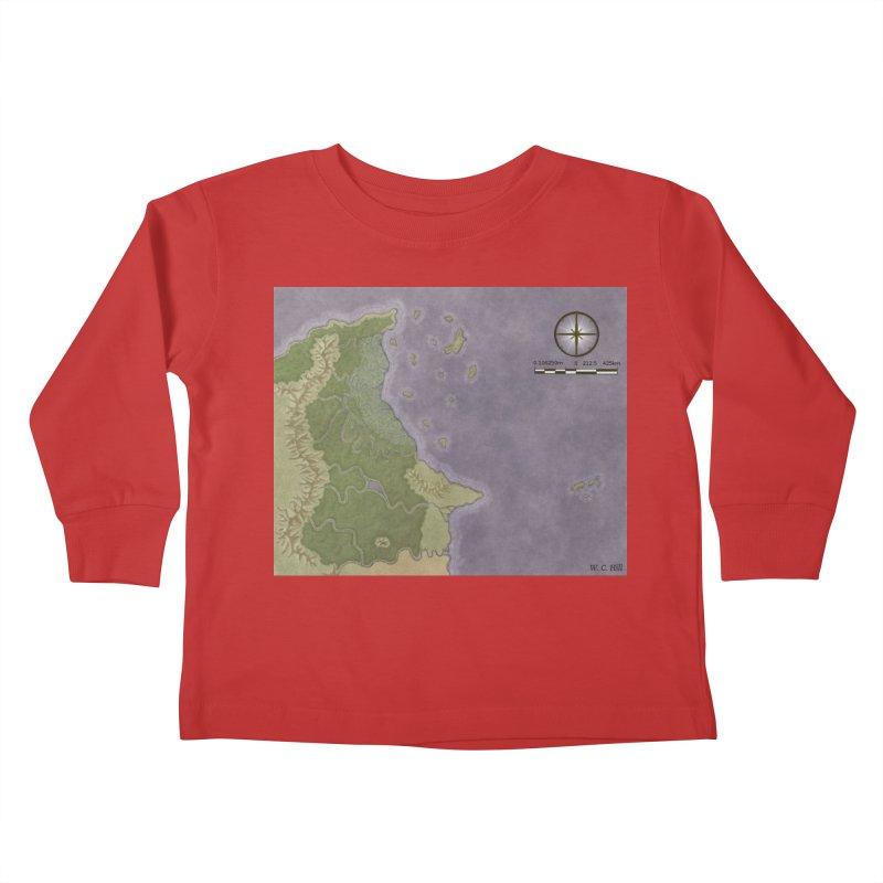North Eastern Verlese Kids Toddler Longsleeve T-Shirt by wchwriter's Artist Shop