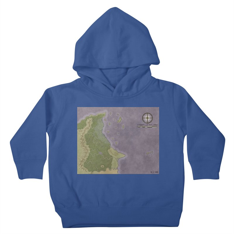 North Eastern Verlese Kids Toddler Pullover Hoody by wchwriter's Artist Shop