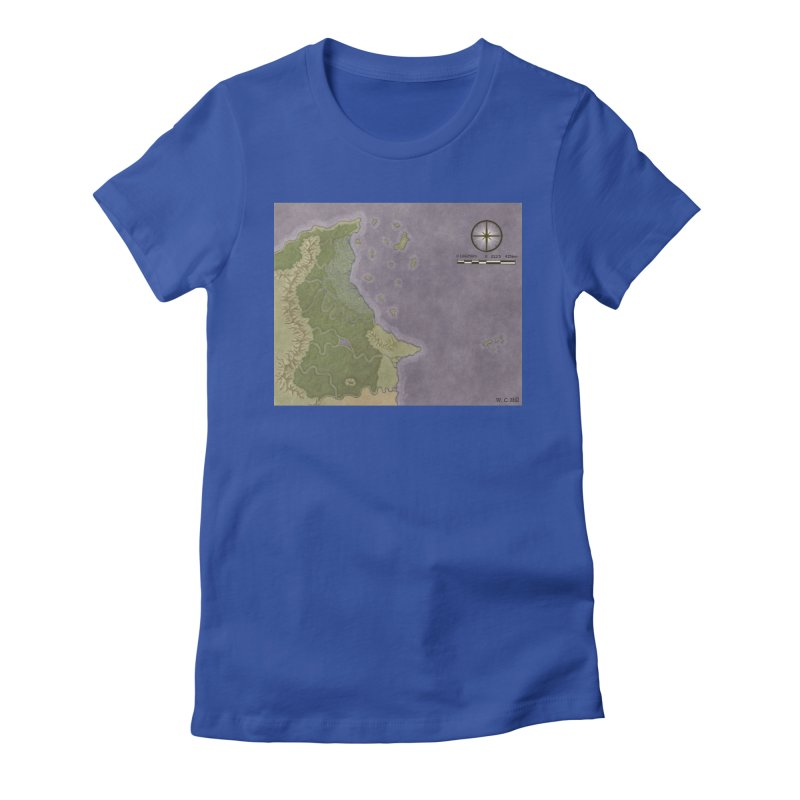 North Eastern Verlese Women's Fitted T-Shirt by wchwriter's Artist Shop