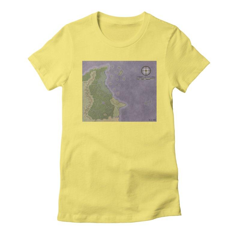 North Eastern Verlese Women's Fitted T-Shirt by wchwriter's Artist Shop