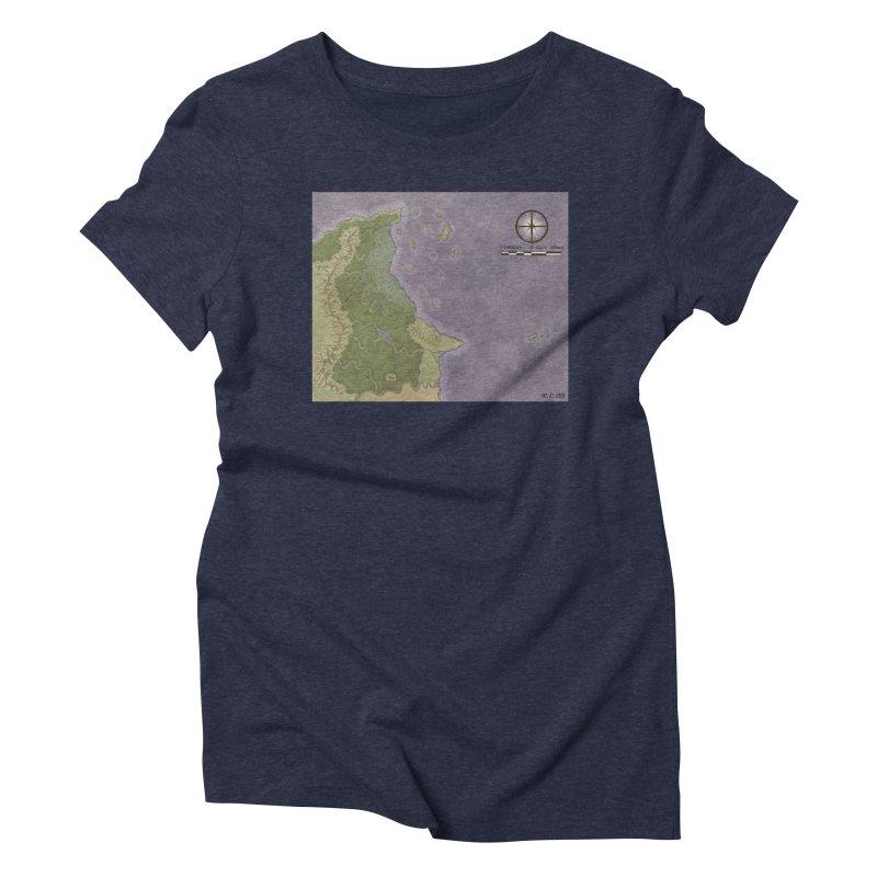 North Eastern Verlese Women's Triblend T-Shirt by wchwriter's Artist Shop
