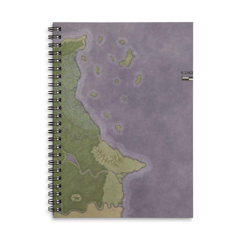 North Eastern Verlese Accessories Lined Spiral Notebook by wchwriter's Artist Shop