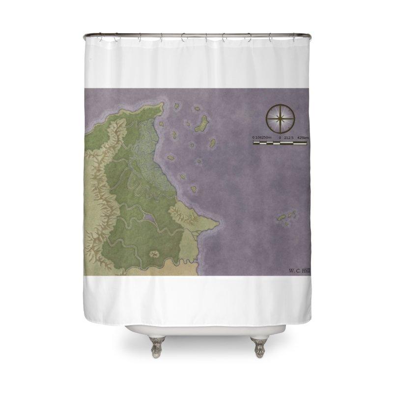 North Eastern Verlese Home Shower Curtain by wchwriter's Artist Shop