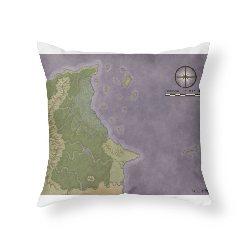 North Eastern Verlese Home Throw Pillow by wchwriter's Artist Shop