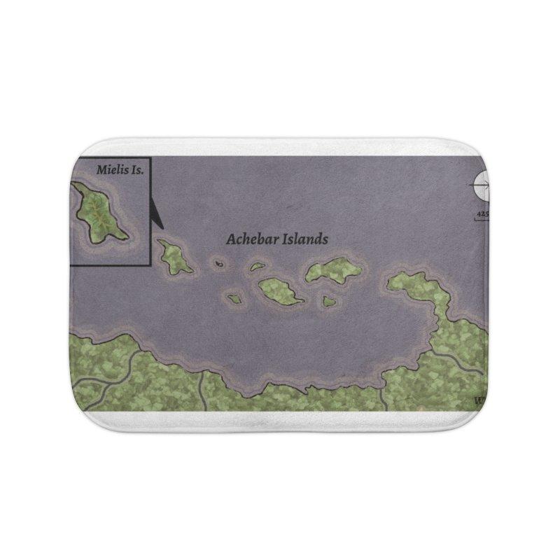 Achebar Islands Home Bath Mat by wchwriter's Artist Shop