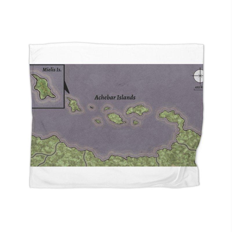 Achebar Islands Home Fleece Blanket Blanket by wchwriter's Artist Shop