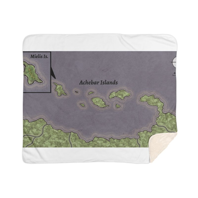 Achebar Islands Home Sherpa Blanket Blanket by wchwriter's Artist Shop