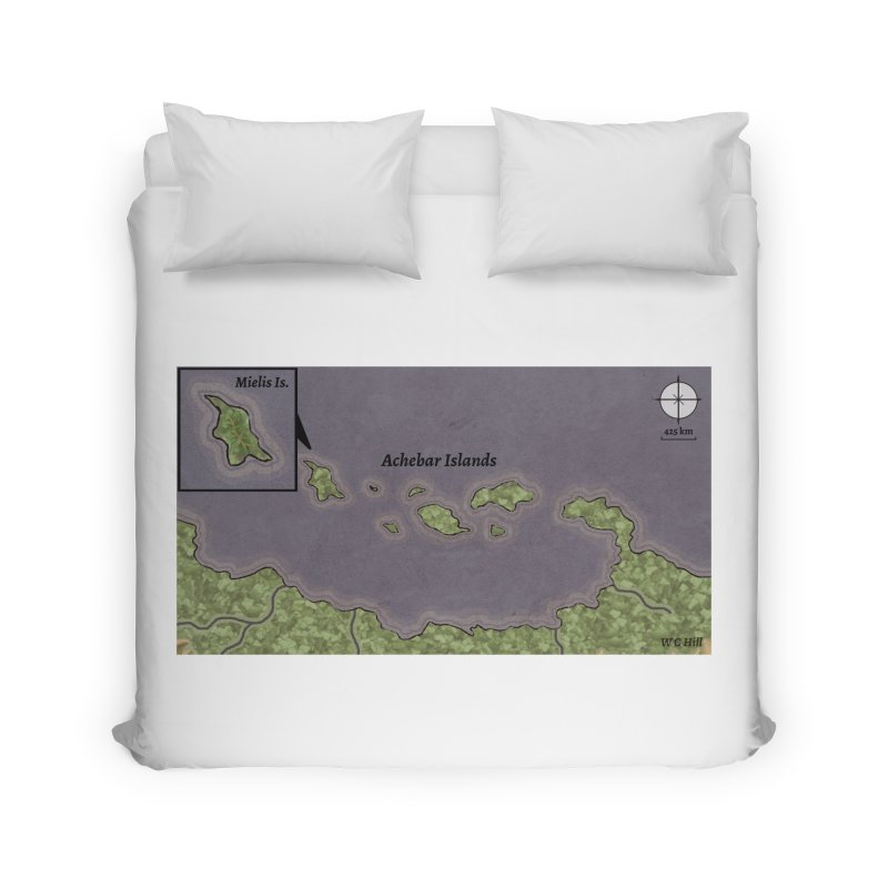 Achebar Islands Home Duvet by wchwriter's Artist Shop
