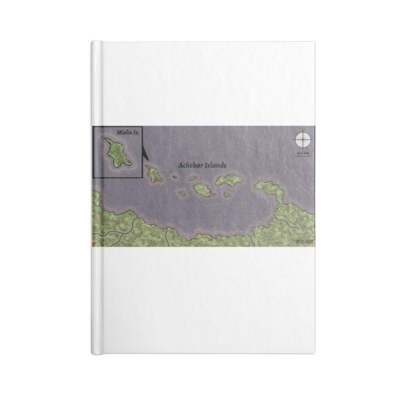 Achebar Islands Accessories Lined Journal Notebook by wchwriter's Artist Shop