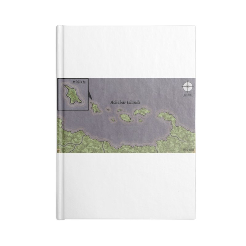 Achebar Islands Accessories Blank Journal Notebook by wchwriter's Artist Shop
