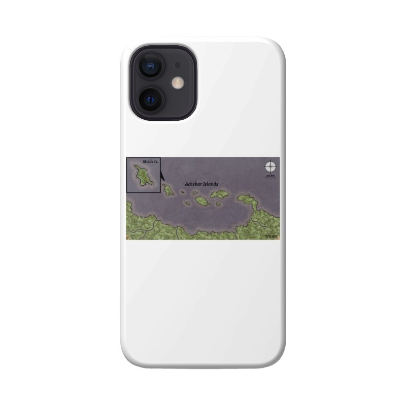 Achebar Islands Accessories Phone Case by wchwriter's Artist Shop