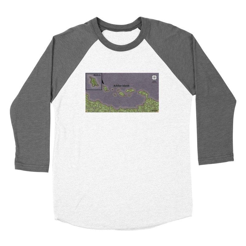Achebar Islands Women's Longsleeve T-Shirt by wchwriter's Artist Shop