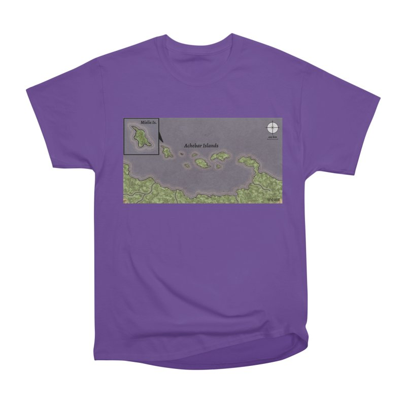 Achebar Islands Men's Heavyweight T-Shirt by wchwriter's Artist Shop