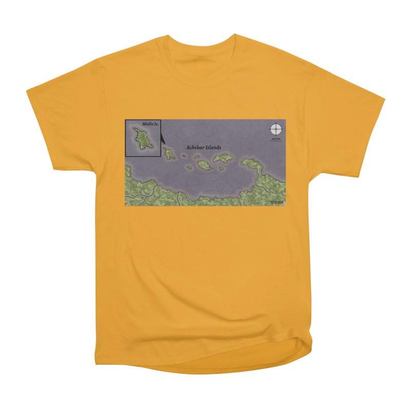 Achebar Islands Men's Heavyweight T-Shirt by wchwriter's Artist Shop