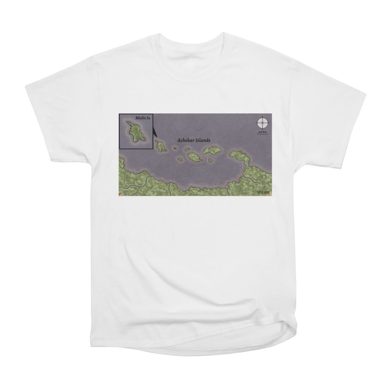 Achebar Islands Women's T-Shirt by wchwriter's Artist Shop