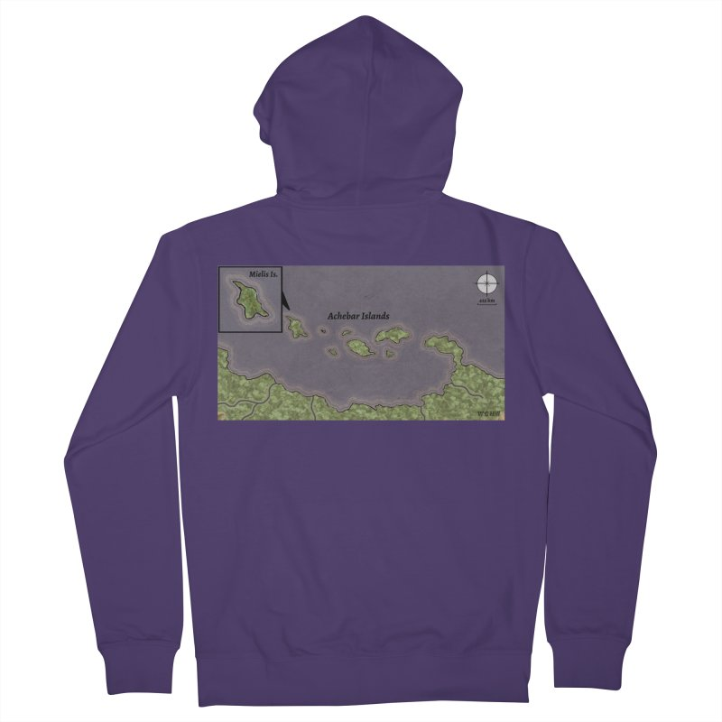 Achebar Islands Women's Zip-Up Hoody by wchwriter's Artist Shop