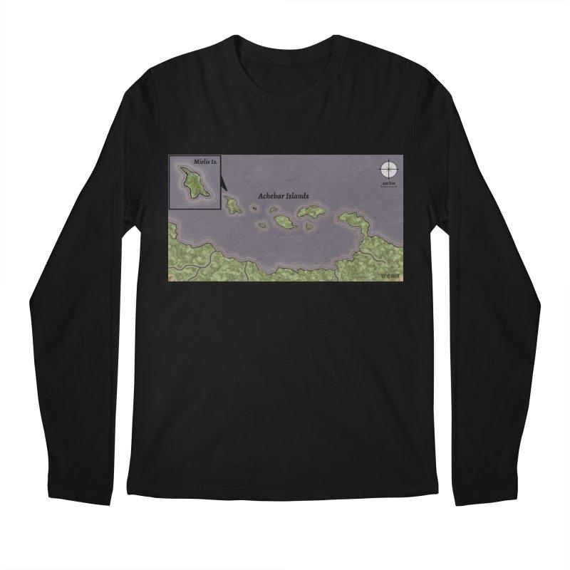 Achebar Islands Men's Regular Longsleeve T-Shirt by wchwriter's Artist Shop