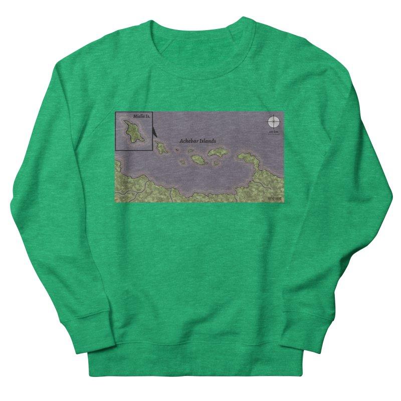 Achebar Islands Women's Sweatshirt by wchwriter's Artist Shop