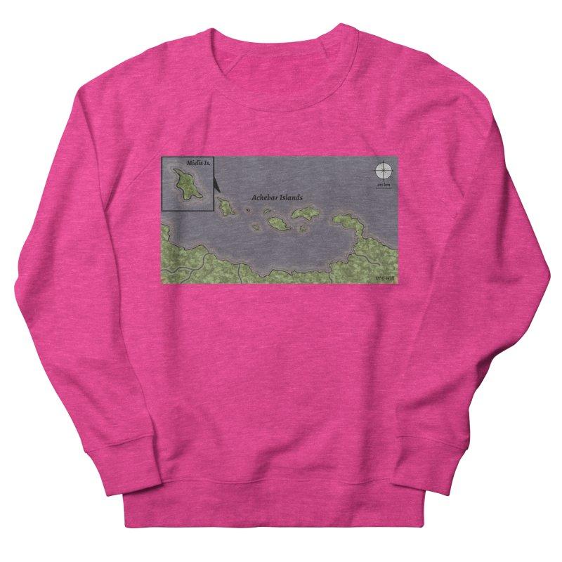 Achebar Islands Men's French Terry Sweatshirt by wchwriter's Artist Shop