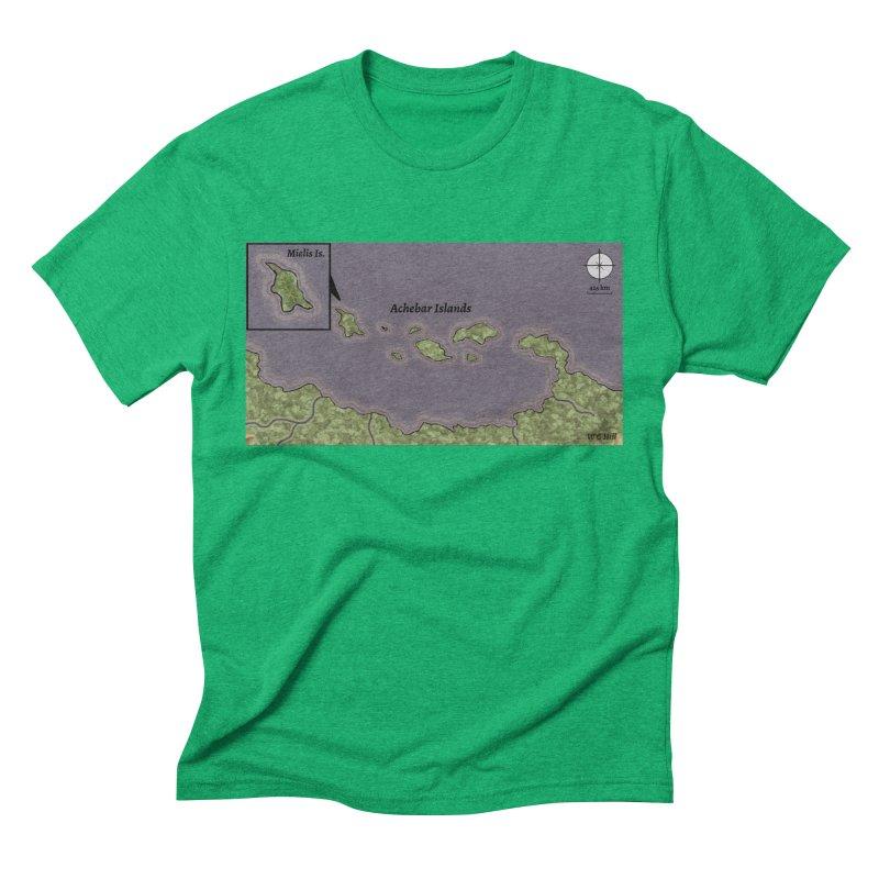 Achebar Islands Men's Triblend T-Shirt by wchwriter's Artist Shop