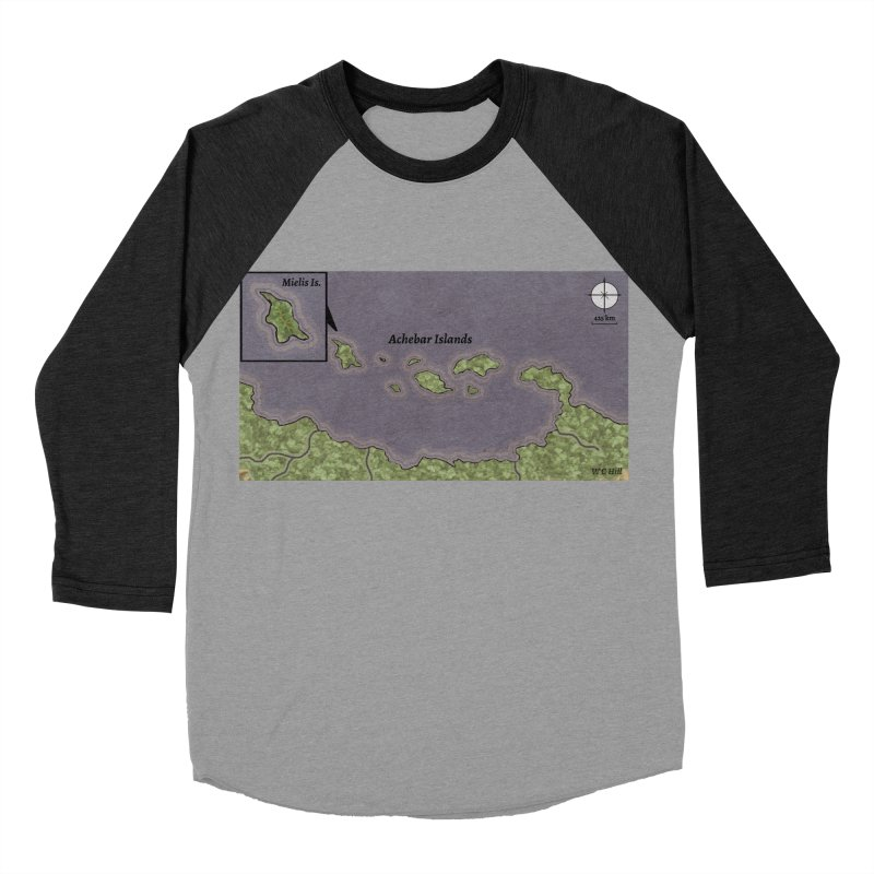 Achebar Islands Women's Baseball Triblend Longsleeve T-Shirt by wchwriter's Artist Shop