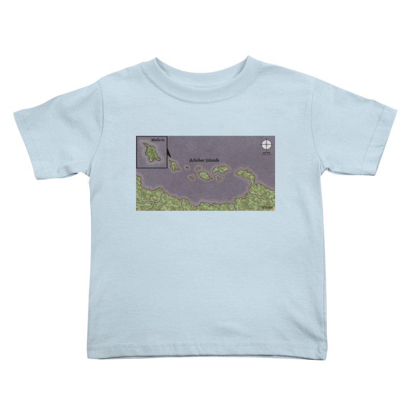 Achebar Islands Kids Toddler T-Shirt by wchwriter's Artist Shop