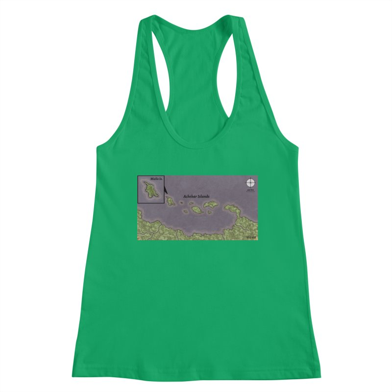 Achebar Islands Women's Tank by wchwriter's Artist Shop