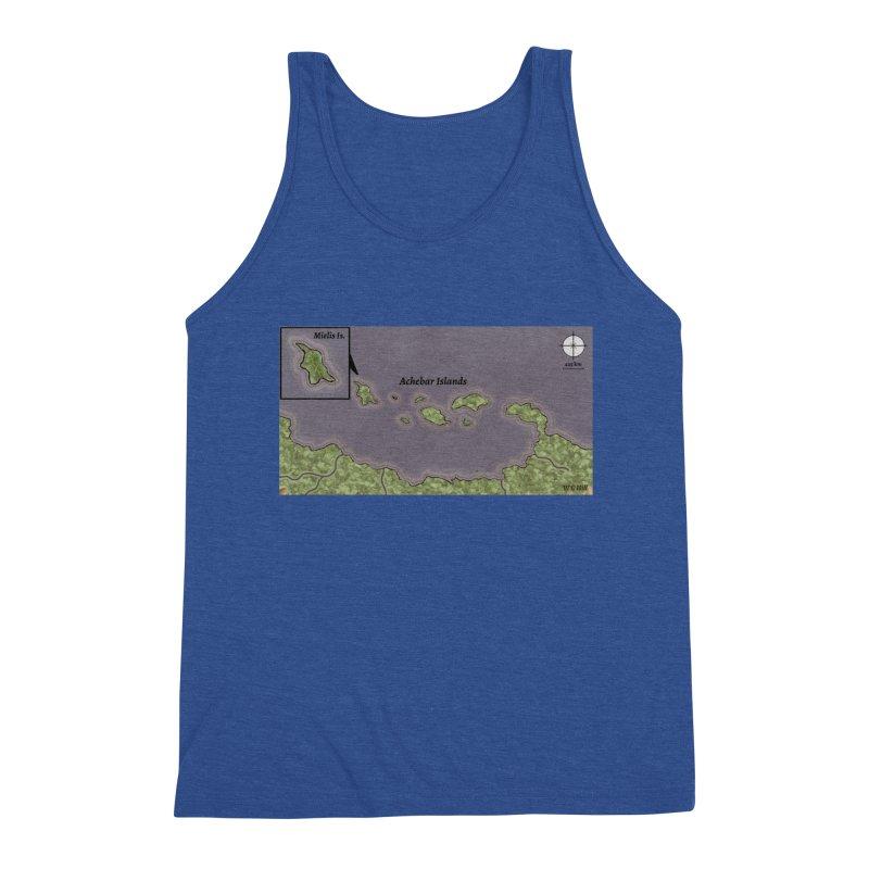 Achebar Islands Men's Tank by wchwriter's Artist Shop
