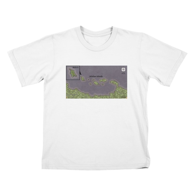 Achebar Islands Kids T-Shirt by wchwriter's Artist Shop