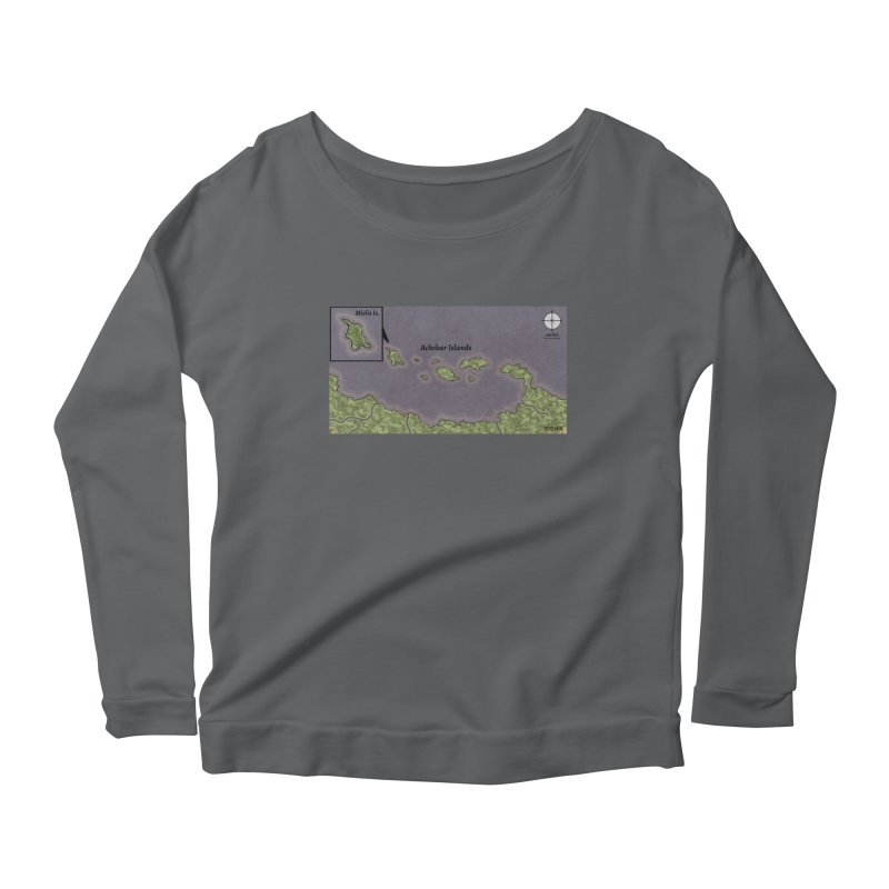 Achebar Islands Women's Longsleeve T-Shirt by wchwriter's Artist Shop