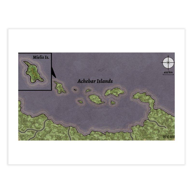 Achebar Islands Home Fine Art Print by wchwriter's Artist Shop