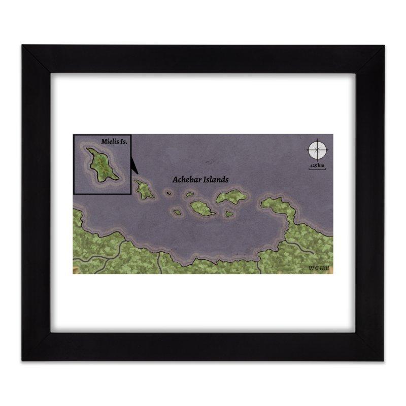 Achebar Islands Home Framed Fine Art Print by wchwriter's Artist Shop
