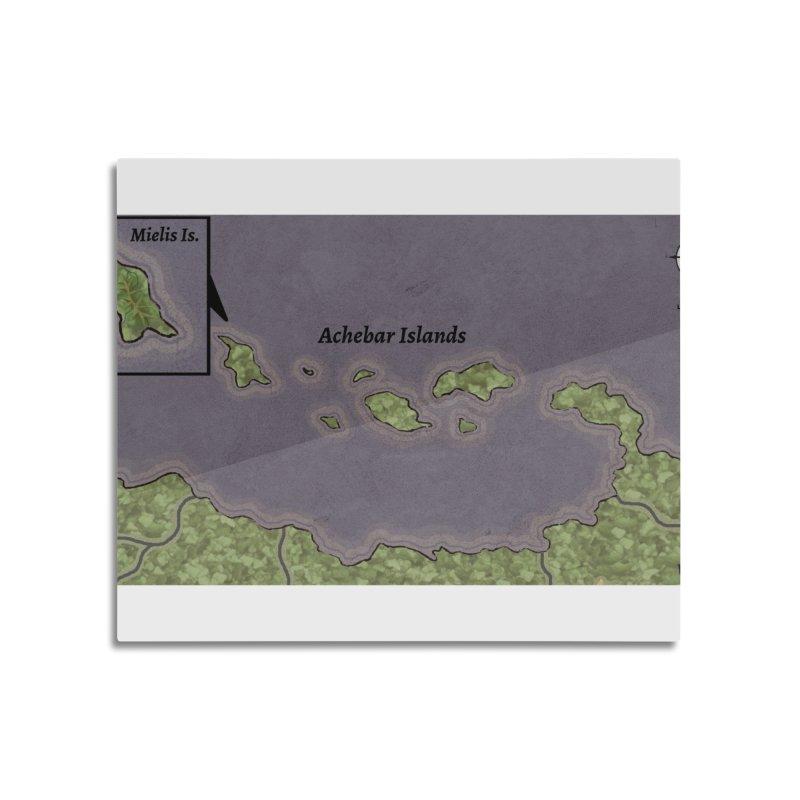 Achebar Islands Home Mounted Aluminum Print by wchwriter's Artist Shop