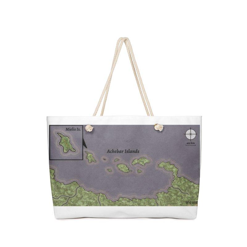 Achebar Islands Accessories Bag by wchwriter's Artist Shop