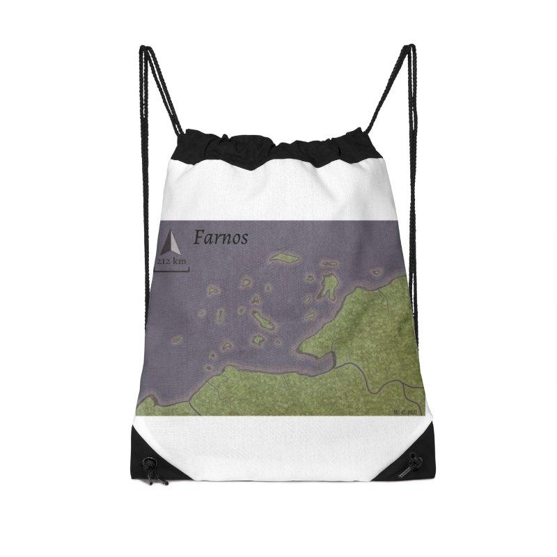Farnos Accessories Drawstring Bag Bag by wchwriter's Artist Shop